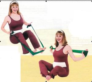 гимнастика для беременных с резиновой лентой