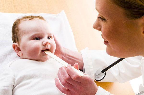 ОРЗ у новорожденных