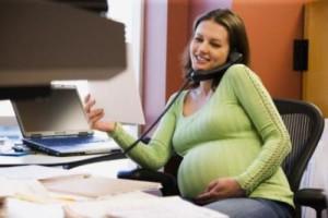 беременность и работа