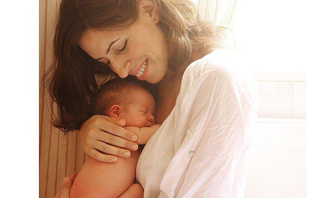 женщина с малюткой
